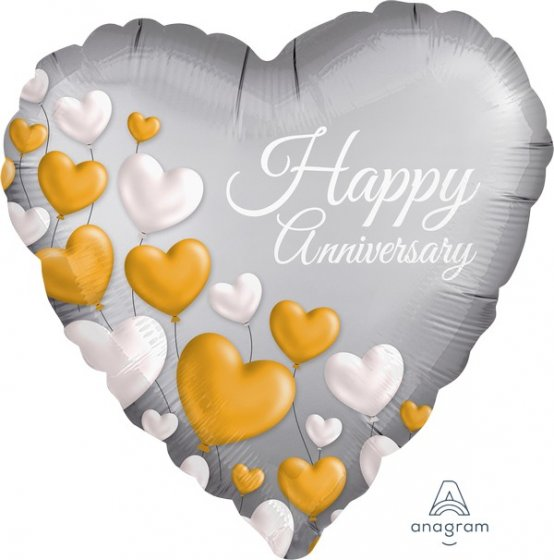 066 Happy Anniversary Hearts