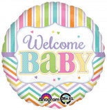 004h Welcome Baby Stripes