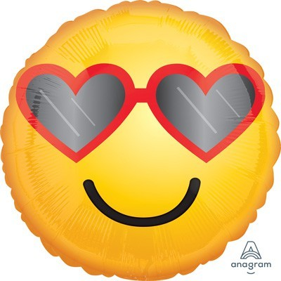 039d Emoji Love Glasses