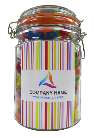 Your Corporate Logo Personalised Lolly Jar