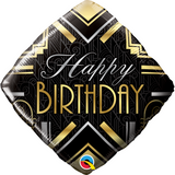 012 Birthday Art Deco