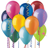 L01 - Latex Balloons Plain Colours