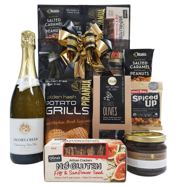 Gluten Free Selection with Sparkling Wine
