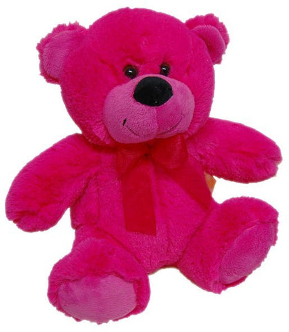 Jelly Bear Bright Hot Pink 23cm