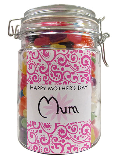Mothers Day Personalised Lolly Jar