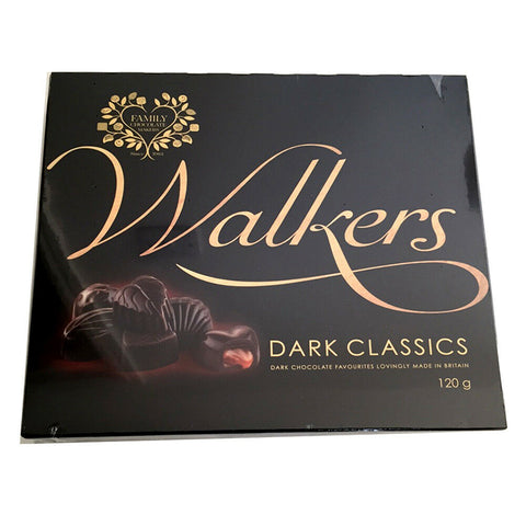 Walkers Dark Classic Chocolates 120g