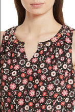 Load image into Gallery viewer, Kate Spade Women's Floral Crepe Sleeveless Gold Stud Neckline A-line Pink dress XS - Luxe Fashion Finds