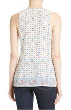 Load image into Gallery viewer, Joie Women's Rain Silk Butterfly Scoop Neck Sleeveless Tank Top Cami - XS - Luxe Fashion Finds
