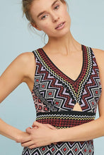 Load image into Gallery viewer, Anthropologie Bodycon Embroidered Bohemian Knit Sleeveless V-Neck Dress - Luxe Fashion Finds