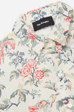 Load image into Gallery viewer, Kooples Women's Silk Crepe Floral Botanical Button Up Long Sleeve Off White Shirt - Luxe Fashion Finds