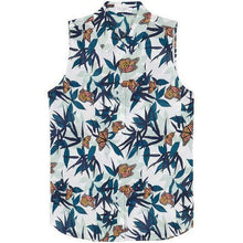 Load image into Gallery viewer, Equipment Colleen Silk Sleeveless Butterfly Palm Print  Button Up White Shirt - Luxe Fashion Finds