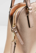 Load image into Gallery viewer, Kate spade Women's Small Lottie Leather Satchel Crossbody Mini Bag, Rose Gold - Luxe Fashion Finds