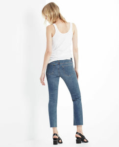 AG Goldschmied Women's Jodi Crop Faded Distroyed Flare Jean - 12YRCD. - Luxe Fashion Finds
