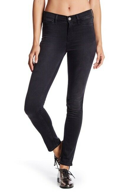 Mih Women's Superfit Super Skinny High Rise Stretch Smokey Black Jeans – 26. - Luxe Fashion Finds