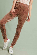 Load image into Gallery viewer, Anthropologie Sabina Musayev Blushed Velvet Women's Legging Jogger Pants - Small - Luxe Fashion Finds