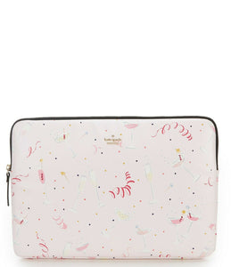 "Kate Spade 15"" Laptop Universal Computer Protective Champagne Pink Case. - Luxe Fashion Finds"