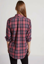 Load image into Gallery viewer, Current Elliott Women's Prep School Plaid Button Up Shirt, Red Rock - S (1) - Luxe Fashion Finds