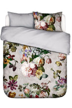 Load image into Gallery viewer, Essenza Dutch Masters Grey Floral 3-Pc Duvet Cotton Sateen Cover Set, King