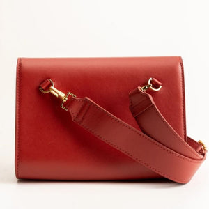 Want Les Essentiels Corzo Convertible Red Women's Belt Bag Clutch Crossbody