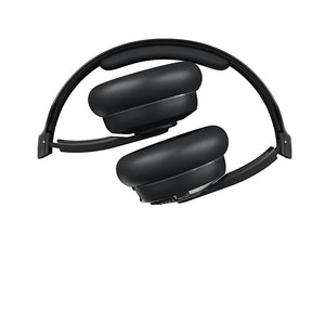 Skullcandy Cassette Wireless On-Ear Collapsible Black Headphones, 22HR NIB
