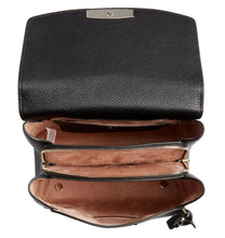 Load image into Gallery viewer, Kate Spade Women's Grace Medium Black Pebbled Leather Adjustable Backpack