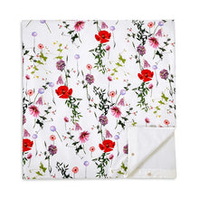 Load image into Gallery viewer, Ted Baker Hedgerow 3-Piece Floral Duvet 108 x 96 White Cotton Cover Set, King