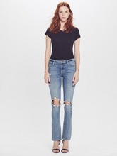 Load image into Gallery viewer, Mother Women's Runaway Weekender Destroy Flare Jeans, Helter Skelter – 29 - Luxe Fashion Finds