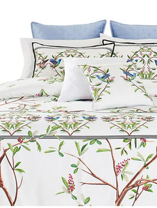 Ted Baker Highgrove 3-Piece Floral Duvet 92x96 Cotton Cover Set, Full/Queen