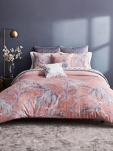 Ted Baker Horizon Bird 3 Piece Cotton Sateen 92 x 96 Duvet Cover Set, Full/Queen