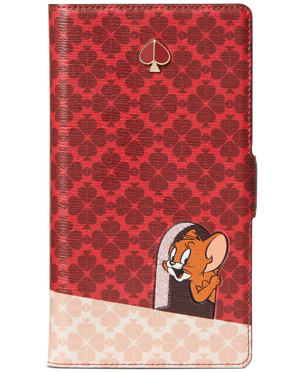 Kate Spade Tom & Jerry iPhone 11 Magnetic Wrap Folio Protective Red Case