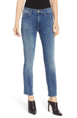 Mother Women's Rascal High Waist Ankle Straight Leg Jeans, Everything We keep - Luxe Fashion Finds