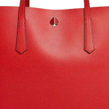 Load image into Gallery viewer, Kate Spade Women's Molly Large Leather Tote Shoulder Bag w Pouch, Hot Chili - Luxe Fashion Finds