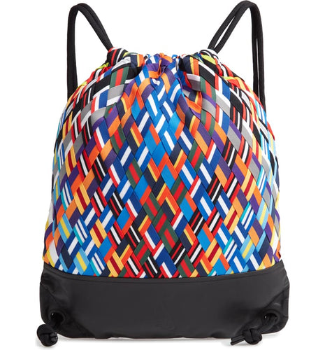 Nike Lab Basketball Jersey Woven & Leather Medium Sport Gym Backpack, Unisex - Luxe Fashion Finds
