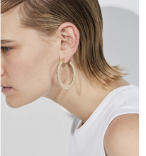 Load image into Gallery viewer, Jenny Bird Women's Quinn Medium Hoop 14K Gold-Plated Earrings - Luxe Fashion Finds