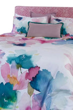 Load image into Gallery viewer, Bluebellgray Sanna Oversized Pastel Floral 3-Piece Cotton Duvet Cover Set, Queen