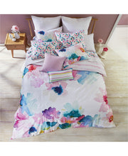 Load image into Gallery viewer, Bluebellgray Sanna Oversized Pastel Floral 3-Piece Cotton Duvet Cover Set, King