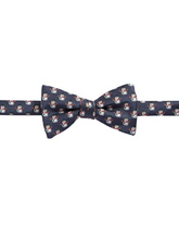 Load image into Gallery viewer, Bow Tie Tuesdays Mens Snowman Christmas Jacquard Silk Pre-Ted Bow Tie - Luxe Fashion Finds