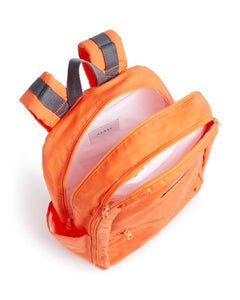 STATE Bedford Nylon Unisex Large Padded Laptop Sleeve Backpack, Orange - Luxe Fashion Finds