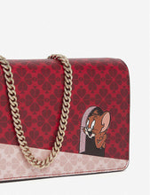 Load image into Gallery viewer, Kate Spade Womens Tom & Jerry Chain Wallet Crossbody Clutch Collection Small Bag - Luxe Fashion Finds