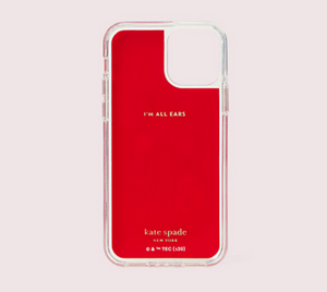 Kate Spade Tom & Jerry iPhone 11 PRO Magnetic Wrap Folio Protective Red Case