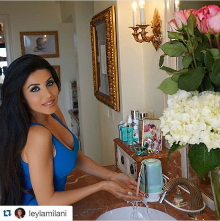 Leyla Milani Loves the AlkaBeauty Bathroom Filter