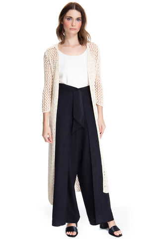 MAXI CASACO REDE COTTON COLOR - JULIANA GEVAERD