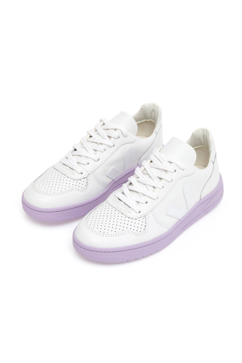 TÊNIS V-10 EXTRA WHITE LILA SOLE - VERT SHOES
