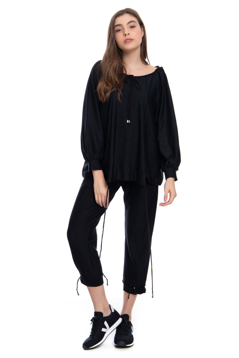 SWEATER 1 PRETO - JULIANA GEVAERD