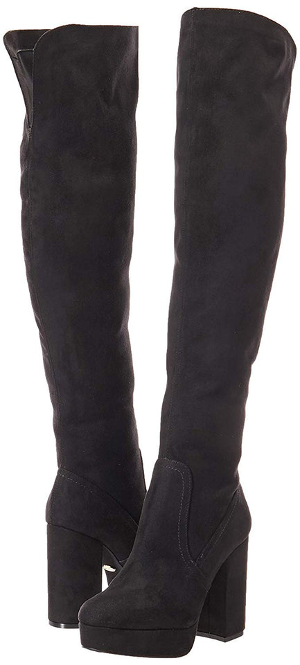 Westies WEVEDDER2-1 BLACK botas para mujer, color negro