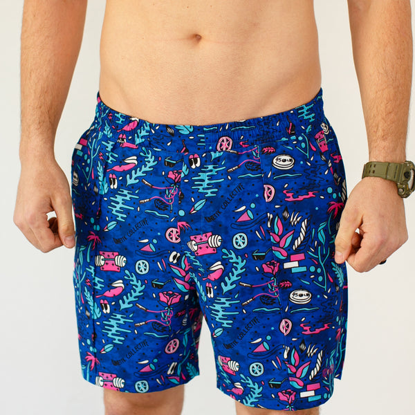 Saved by the Barbell Training Shorts (KNTK Private Stock)