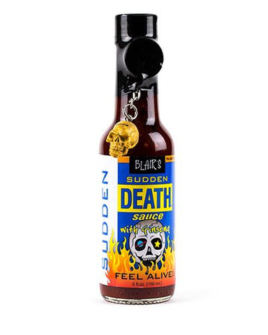 Blair's Sudden Death Sauce brought to you by one of the World's most respected hot sauce makers, Blair's Death Sauce.