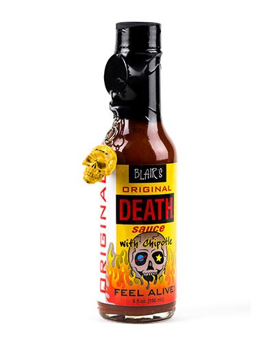Blair's Original Death Sauce brought to you by one of the World's most respected hot sauce makers, Blair's Death Sauce.