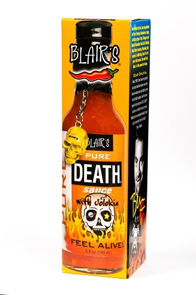 Blair's Pure Death Sauce brought to you by one of the World's most respected hot sauce makers, Blair's Death Sauce.