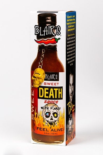 Blair's Sweet Death Sauce brought to you by one of the World's most respected hot sauce makers, Blair's Death Sauce.